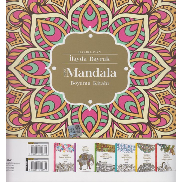 Super Mandala Boyama Kitabi 7 00
